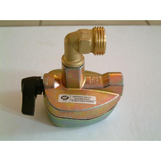 Adaptateur bouteille de gaz  Cube