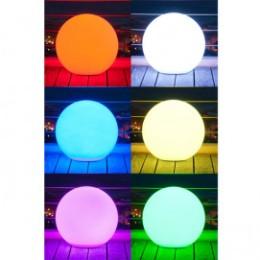 Boule lumineuse multicolore sans fil