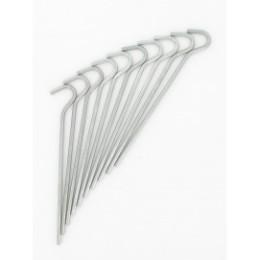 Crochets de fixation en acier (les 10)