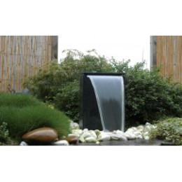 Fontaine de jardin en pierre reconstituée design