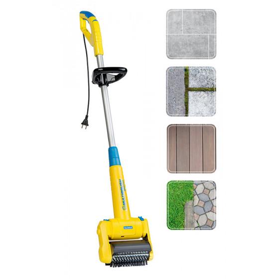 Brosse electrique pour nettoyer terrasse et joints