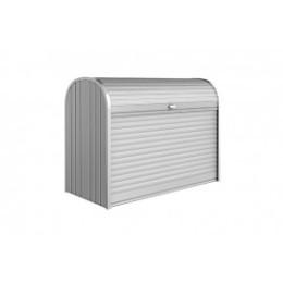 Coffre de rangement en métal poubelle 740 L