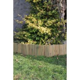 Bordure de jardin en bambou naturel 2 m