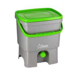 Seau de cuisine Bokashi 16 litres et sac 1 kg d'activateur de compost