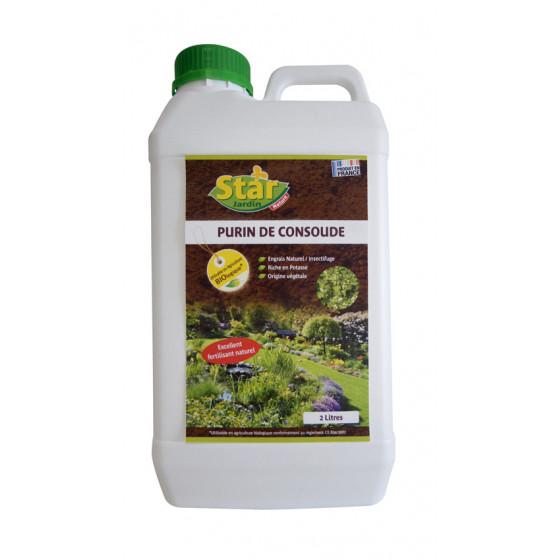 Purin de consoude 2 L 100% naturel pour culture biologique