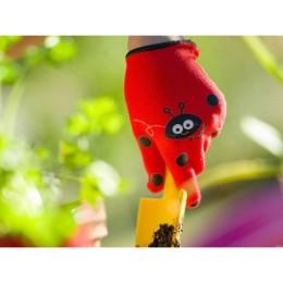 Gant de jardinage enfant coccinelle 3-4 ans