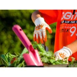 Gant de jardinage enfant hérisson 6-8 ans