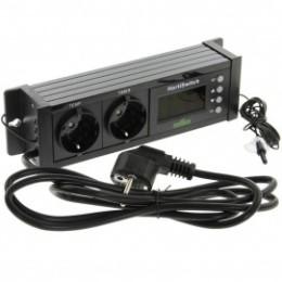 Thermostat digital avec minuterie pour chauffage electrique