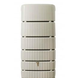 Récupérateur d'eau de pluie mural 500 litres sable