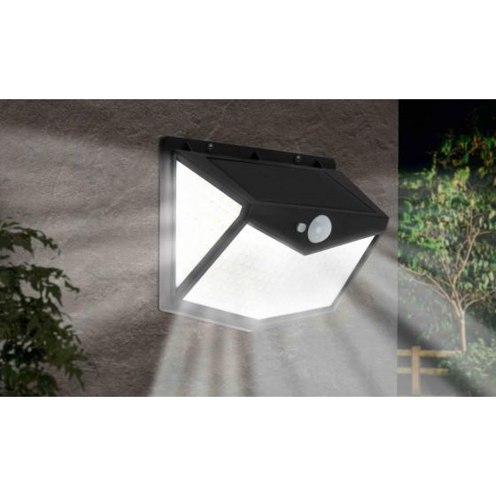 Spot exterieur solaire mural avec détecteur de mouvement