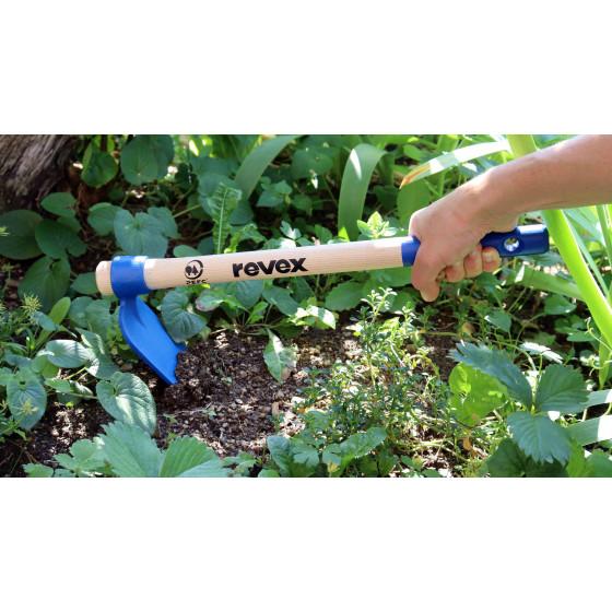 houe de jardinage en acier forgé pour biner la terre