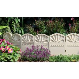 bordure de jardin décorative